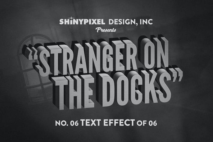 Thumbnail for Old Movie Title - Text Effect n° 6 of 6