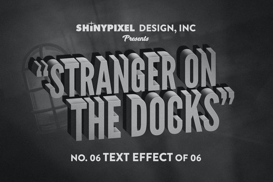 Old Movie Title - Text Effect n° 6 of 6