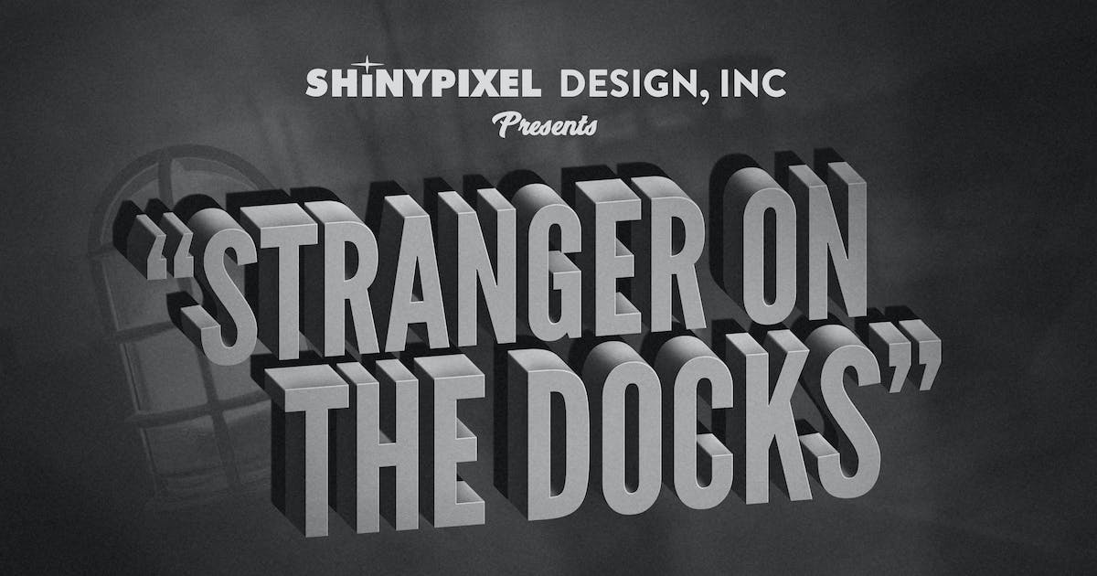 Download Old Movie Title - Text Effect n° 6 of 6 by ShinyPixel