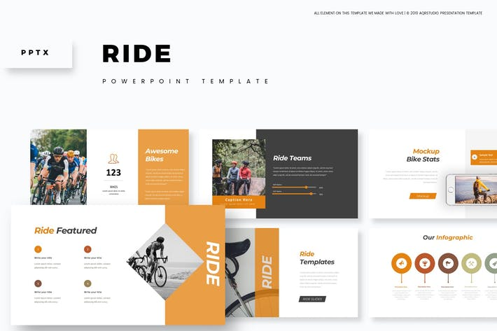 Cover Image For Ride - Powerpoint Template