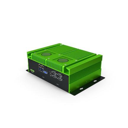 Промышленный мини-ПК Зеленый