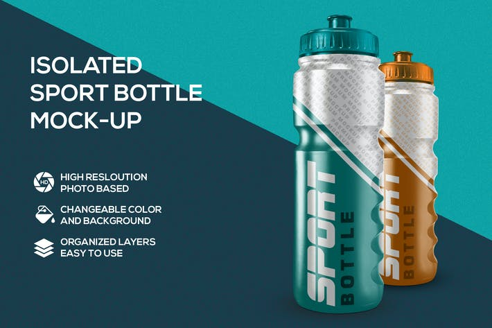 Thumbnail for Sport bottle mockup