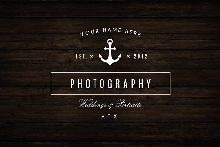 Thumbnail for Anchor Nautical Logo