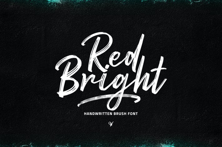 Thumbnail for Red Bright - Brush Font