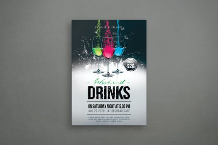 Wochenende Drinks