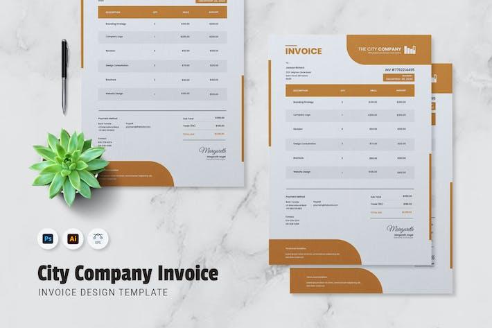 Thumbnail for City Company Invoice