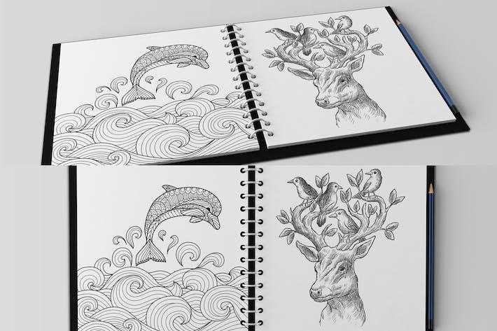 Thumbnail for Multipurpose Paper Mockups V3