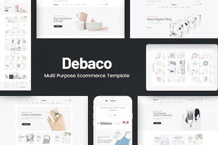 Debaco - Küchengeräte für WordPress Thema
