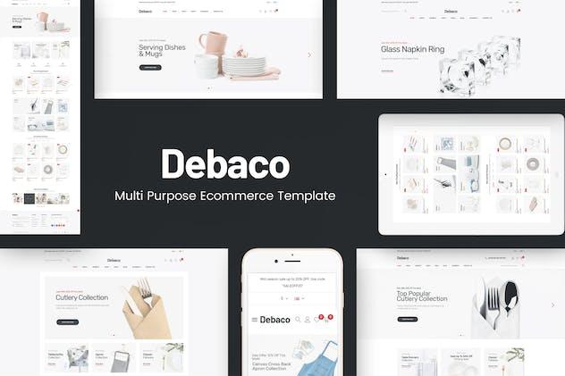 Debaco - Kitchen appliances for WordPress Theme