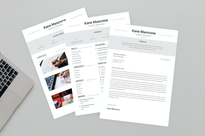 Thumbnail for CV Level Resume Designer