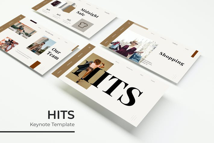 Thumbnail for Hits - Keynote Template