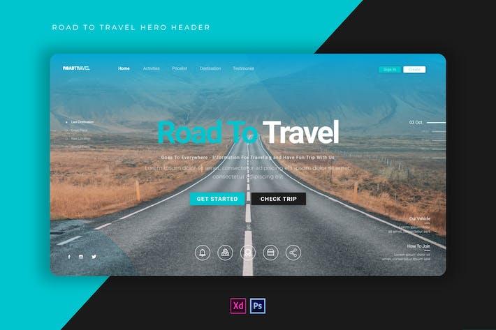 Thumbnail for Road Travel | Hero Header