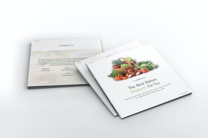 Thumbnail for Farming Square Brochure Template