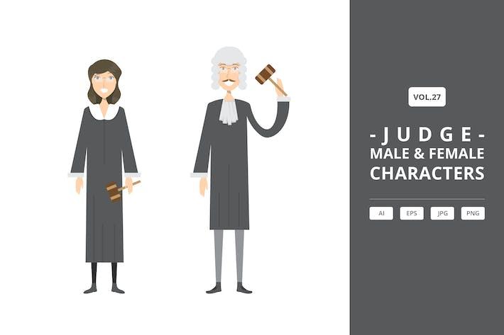 Judge - Male & Female Characters Vol.27