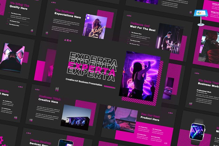 Thumbnail for Experta - Creative Business Keynote Vorlage