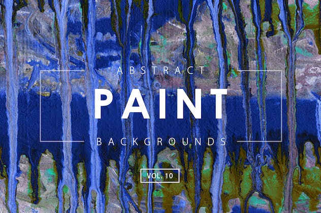 Abstract Paint Backgrounds Vol. 10