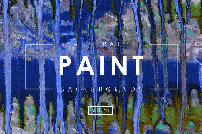 Thumbnail for Abstract Paint Backgrounds Vol. 10