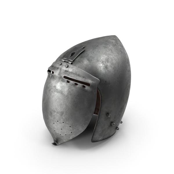 Klappvisier Bascinet Helm