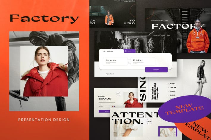 Thumbnail for Factory - Urban Fashion Keynotes