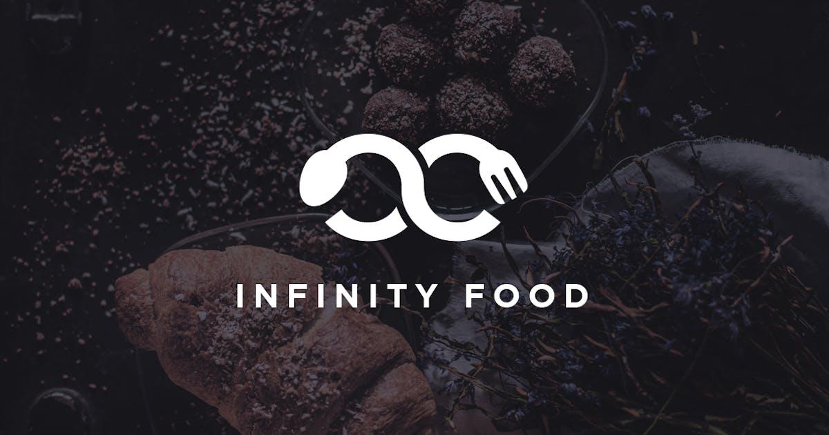 Download Modern Minimalistic Infinity Food Logo by Suhandi