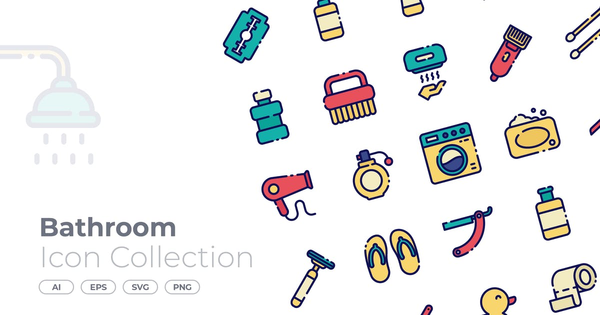 Download Bathroom Filled Icon by GoodWare_Std