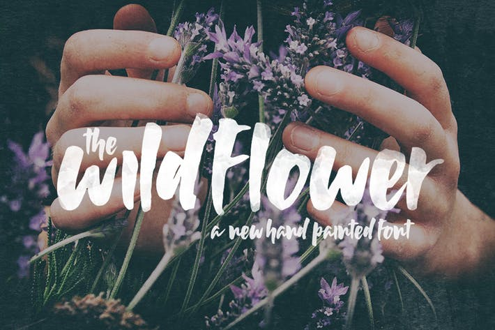Thumbnail for Wildflower Font