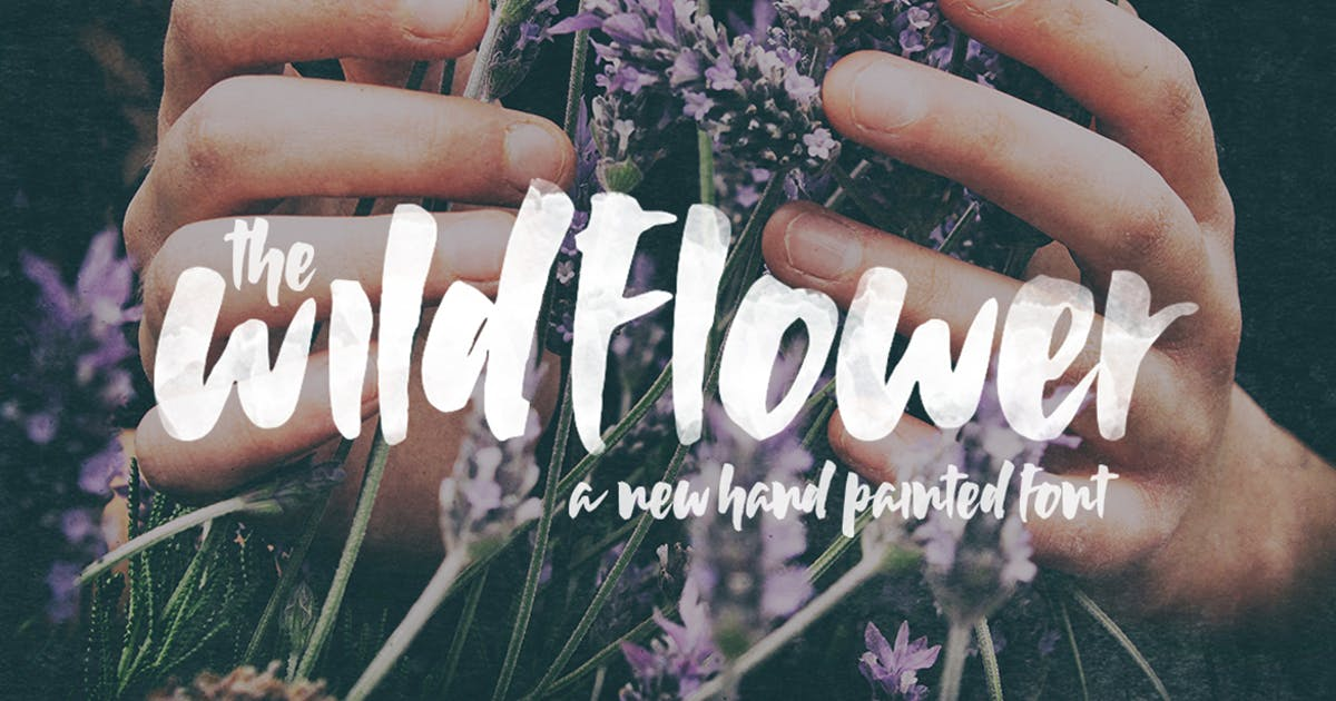 Download Wildflower Font by maroonbaboon