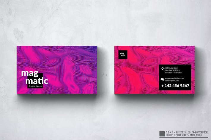Thumbnail for Art Abstract Business Card Design