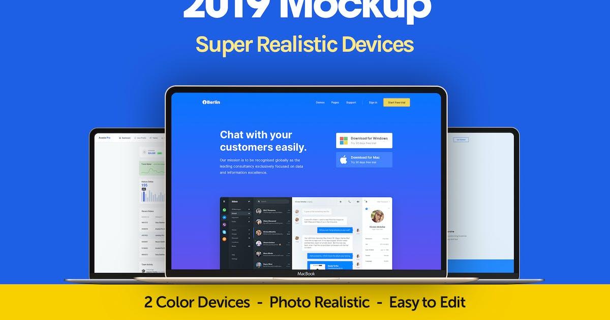 Download Macbook Pro 2019 Mockup by dhrubok