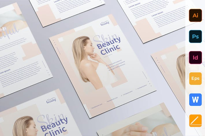 Thumbnail for Skin Beauty Clinic Flyer