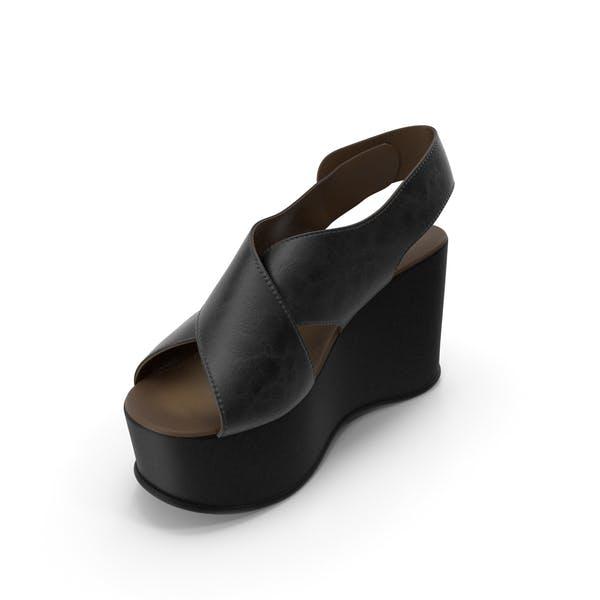 Damenschuhe Schwarz Schwarz
