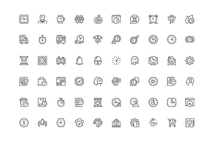 Zeit-Unique Web Line Icons Pack