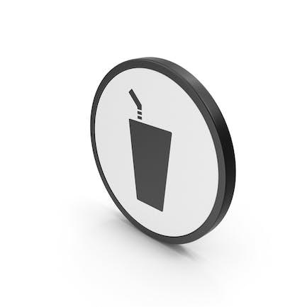 Drink Icon Negro