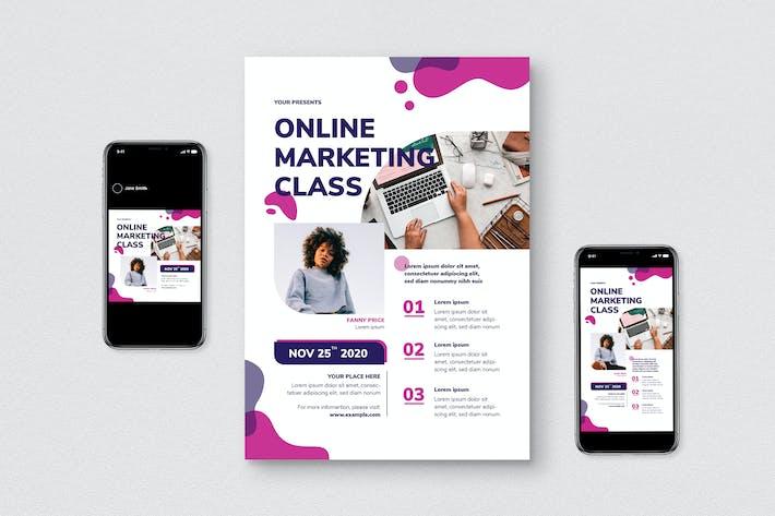 Thumbnail for Flyer zur Online-Marketing-Klasse