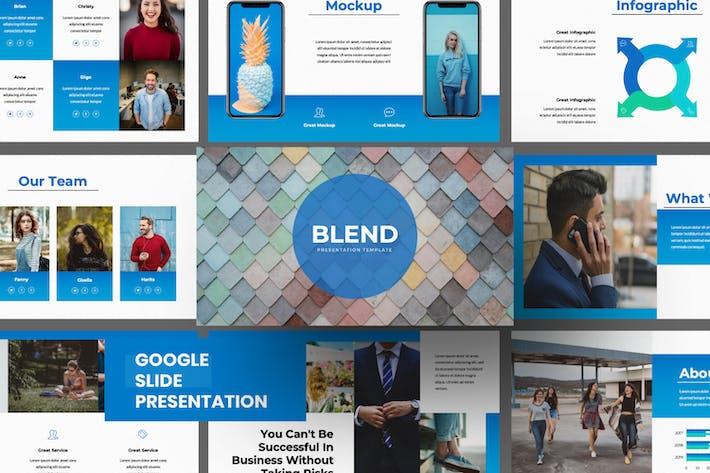 Thumbnail for Blend Business Google Slide
