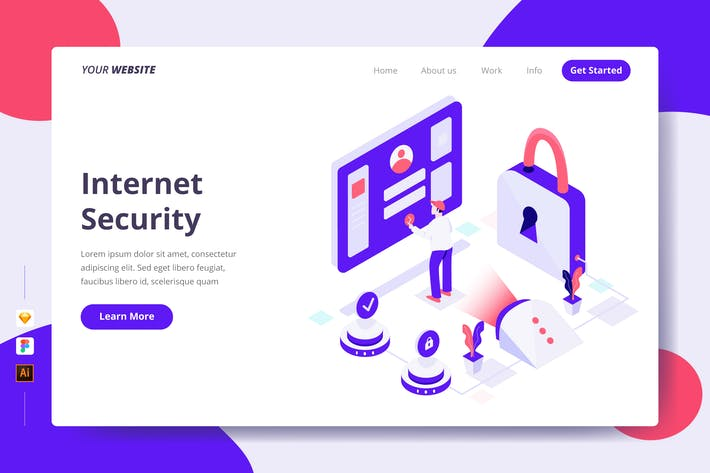 Thumbnail for Internet Security - Landing Page