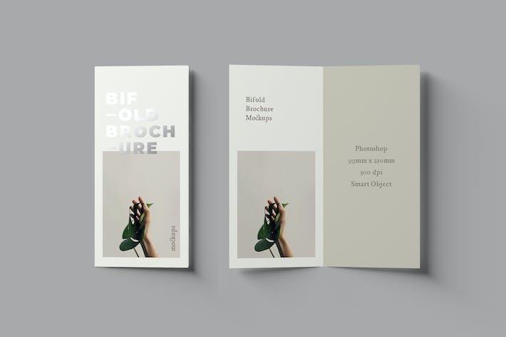 Thumbnail for Bifold DL Broschüre Mock-ups