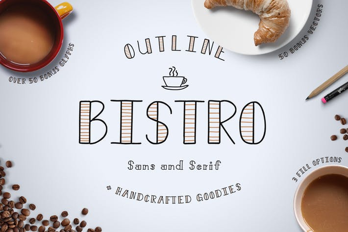 Thumbnail for Bistro Font