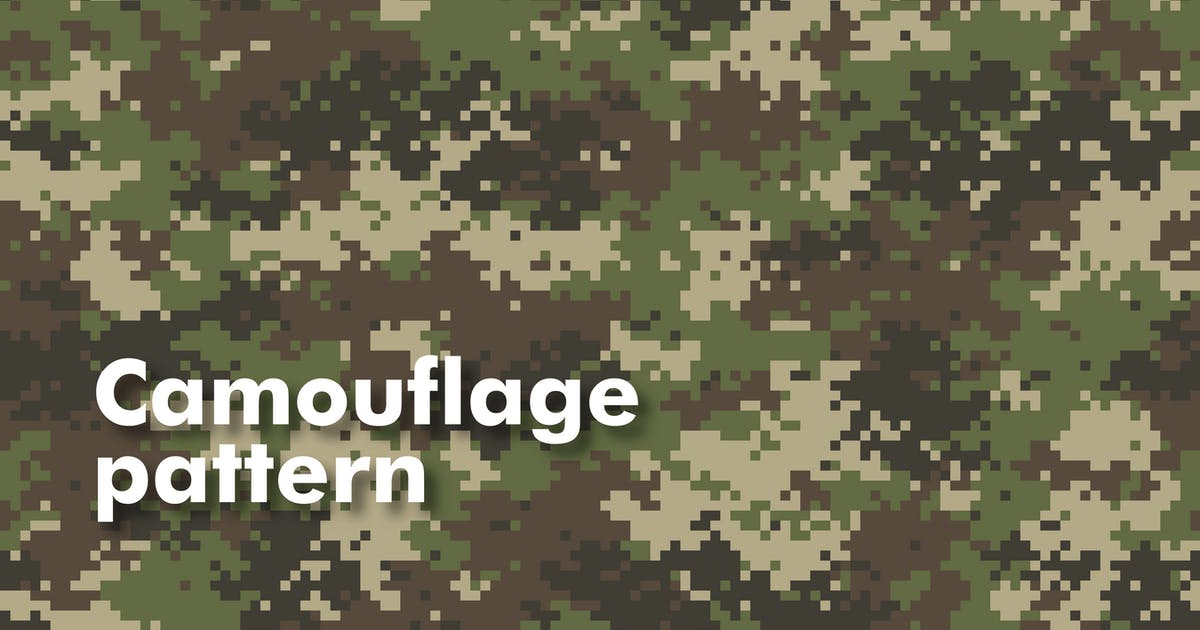 Download Camouflage Seamless Patterns by Faber14
