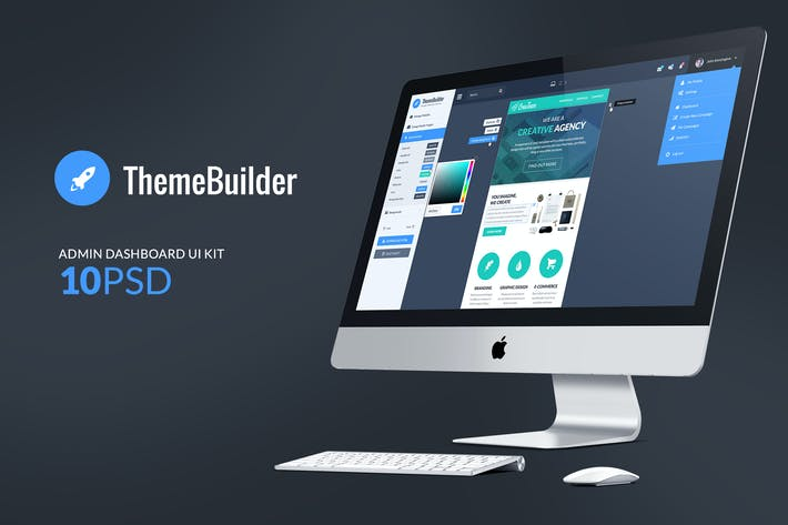 Thumbnail for ThemeBuilder - Admin Dashboard UI Kit