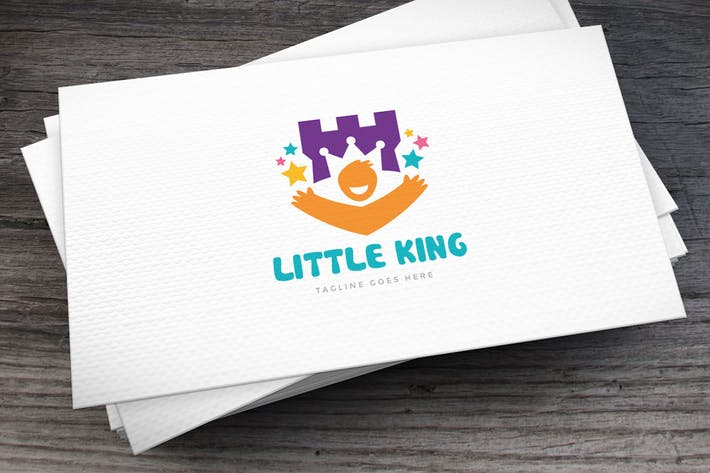Thumbnail for Little King Logo Template