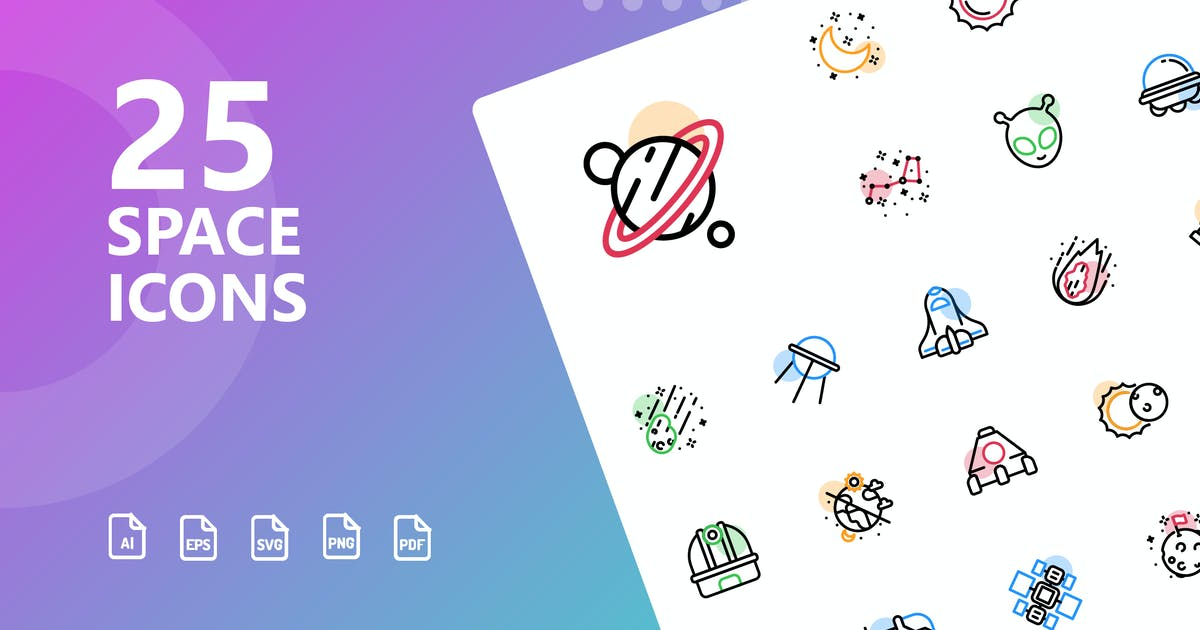 Download Space Shape Icons by kerismaker