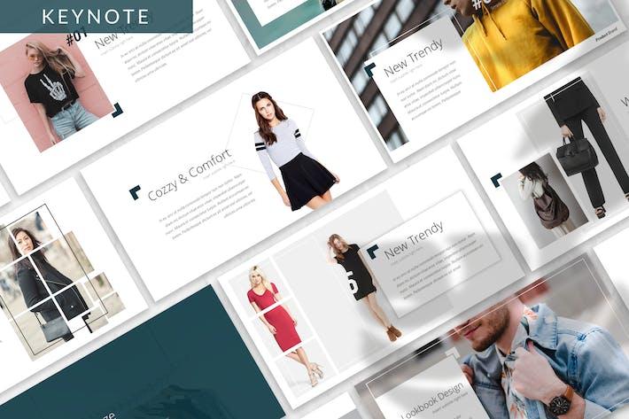 Thumbnail for Dozze - Fashion Keynote Template