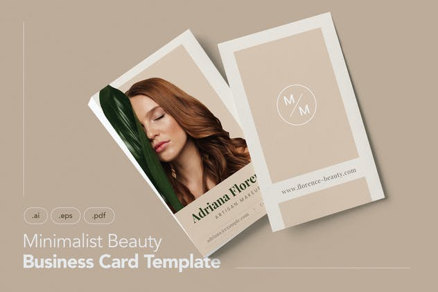 Professional and Beauty Business Card V.5