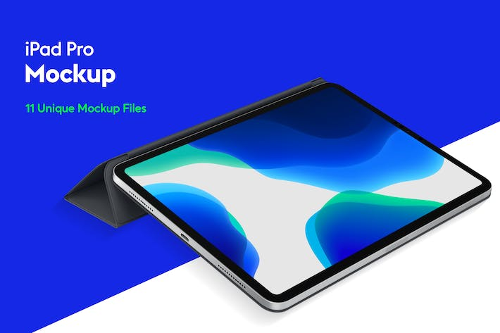 Cover Image For iPad Pro Mockup