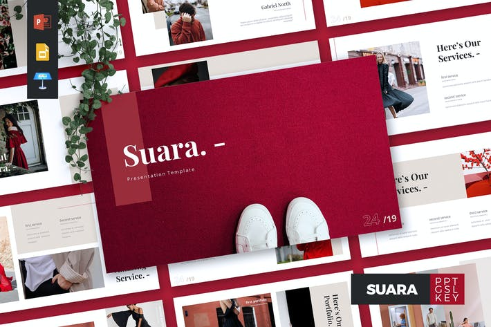 Thumbnail for SUARA - Fashion Powerpoint/Google Slide/Keynote
