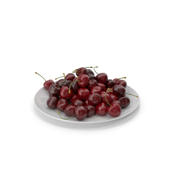 Cherries in a Plate