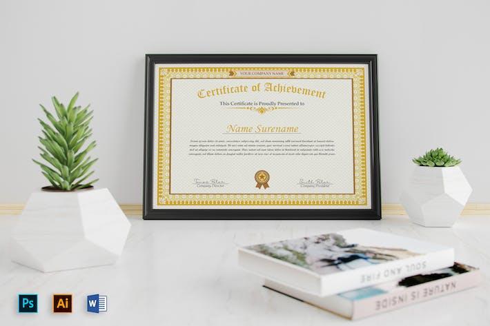 Zertifikate Word