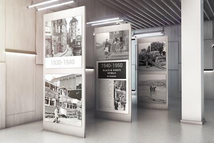 Exhibition Gallery Mockup