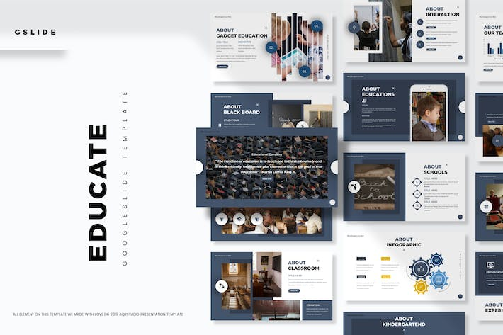Thumbnail for Educate - Google Slides Template